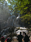 Seasonal Waterfall at Panda Lake