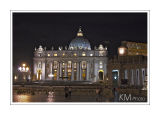 Basilika St. Peter at night