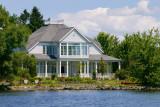 Maison sur  le lac Memphrémagog