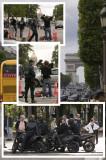 Tournage de  RUSH HOUR 3 avec...Jackie Chan et le Détective James Carter