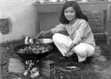 Teacher Cooking Lunch