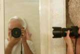 Self Portrait with Camera in Mirror