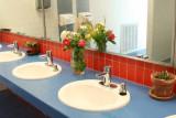 Men's Bathroom at Bonneville Dam