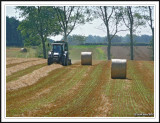 Production of a bale!