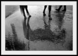 Jambes qui se reflètent