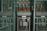 Ställverket bottenplan 10 kV - tryckluftsbrytare