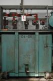 Ställverket bottenplan - reaktor till turbin G4