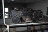 Transformatorhallen - maskineri för handdriven travers