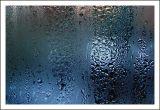 On a dark rainy day.