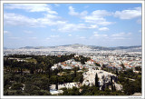 Vue over Athen from Acropolis
