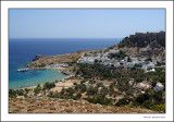 View over Lindos