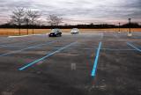 Suburban Parking Lot