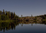 Grouse Ridge by moonlight