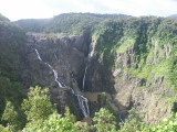 Barron falls - we were hoping to see more water!