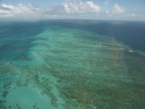 Helicopter flight - Gt. Barrier Reef