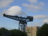 Clydeport Crane & the Campanile Hotel