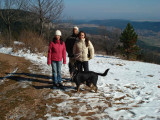 Alina, Alejandro, Lucy and Nero in Hohe Wand