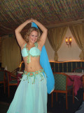Alicia, the Viennese oriental  belly dancer