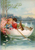 A Romantic Easter painting