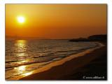 Sunset at golfo / Sonnenuntergang am Golfo