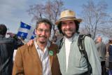 Scott et moi nous sommes connus bien avant son entré en politique. Nous nous sommes croisé au rassemblement du « JOUR DE LA TERRE » le 22 avril 2007. Allez voir la galerie...