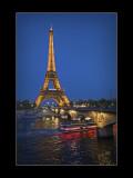 Eiffel Tower, Paris at Night