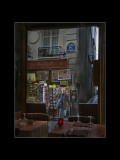 Man on Paris Street Corner