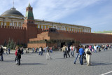 Red Square and Mausoleum