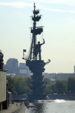 Monument to remember 300 year Russian Navy