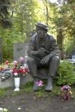Novodevichy Cemetery; clown Yuri Nikulin