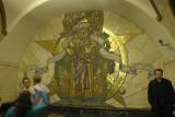 Moscow metro: Novoslobodskaya Station