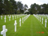 The Beaches of Normandy and the American Cemetery