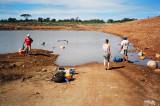 Environmental impact work on Mbala reservoir