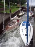 Giocoso in the Gota Kanal.