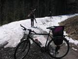 Radltour auf den Pragelpass Frühjahr 2007