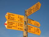 Wanderung mit Fritz im Toggenburg 10/07