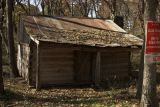 old abandonded cabin