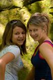The Girls at Hawksbill crag