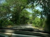 Driving down the road to Rincon