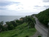 The road to our hotel
