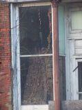 old storefront reflection