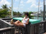 Atop Schooner Wharf In Key West