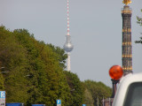 Victory tower and radio tower berlin.