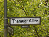 Street sign, we lived there