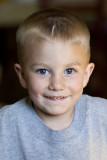 Little Blue Eyes in true fiesty character