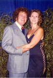 Kenneth and Margaret in her gownless evening strap - 1980