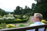 Kit in an English garden, June 2006.
