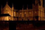 St Brendans RC Church at Night