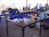 blue angels model jet