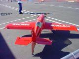 big red plane